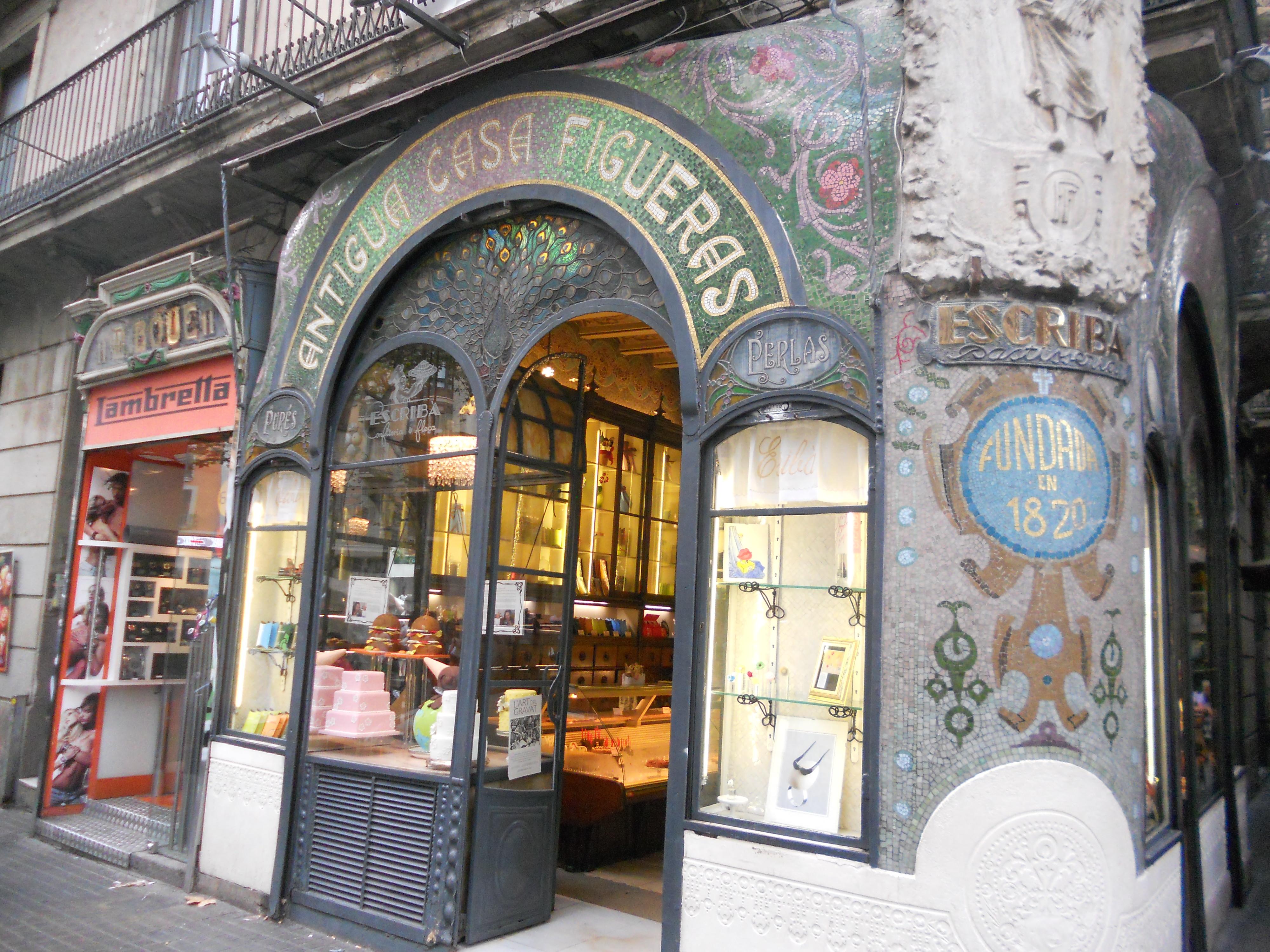 Walking down la rambla and finding my sweet tooth karinaculinaryworld - Tea shop barcelona ...