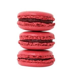 blog pic-raspberry laduree macaron